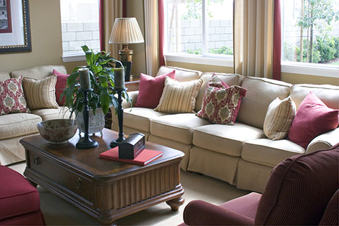 Home Health Care in West Hollywood CA: Arrange Living Room Furniture to Avoid Trips and Falls